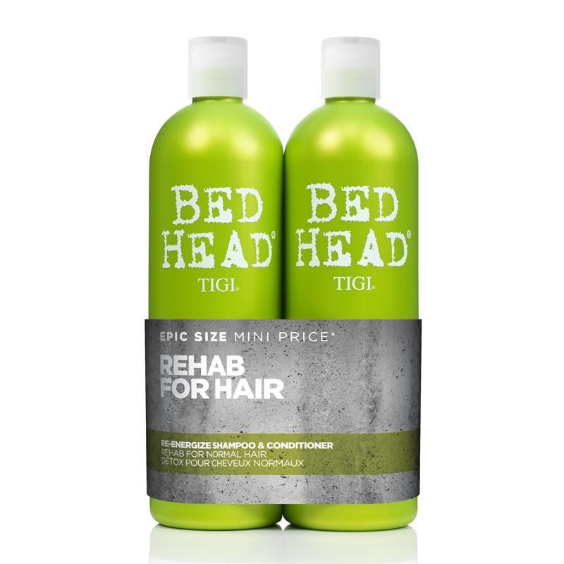 TIGI BED HEAD SHAMPOO + CONDITIONER