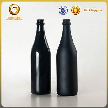 popular empty glass bottle for beer bottles 500ml