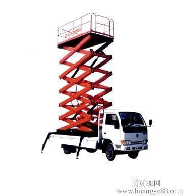 SJPT03-8 Truck mounted elevating platform