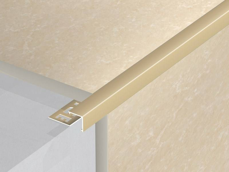 Aluminium ceramic tile trims