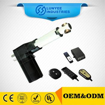 DC linear actuator for door opener, sofa, chair lift