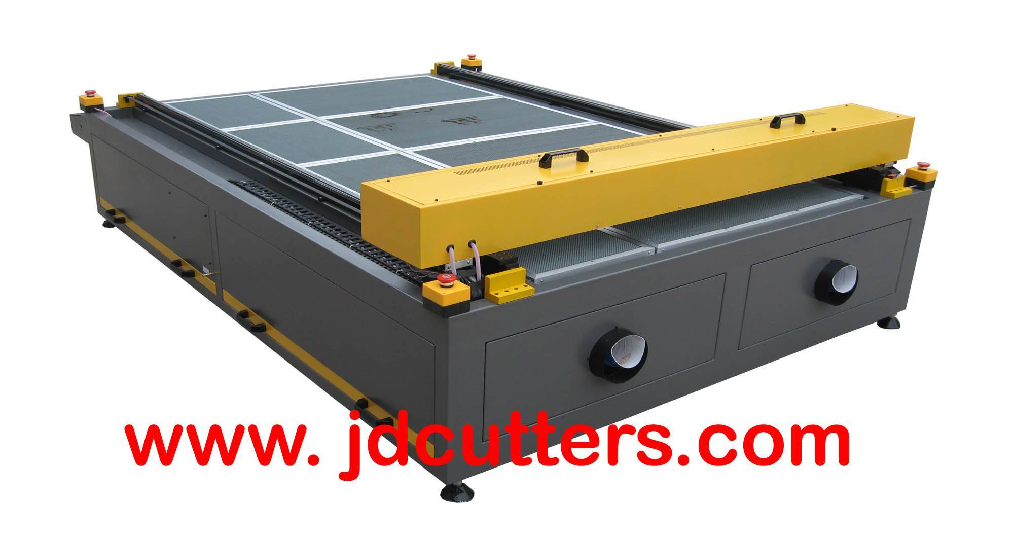 Large Scale Laser Engraving Cutting Machine with long life laser tube