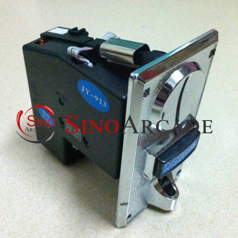 CPU Multi Coins Selector coin Acceptor Advanced Zinc Alloy Front Plate JY-923 for Vending Arcade mec