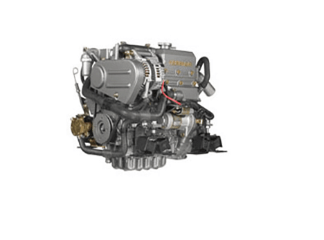 New Yanmar 3YM20 21HP Marine Engine