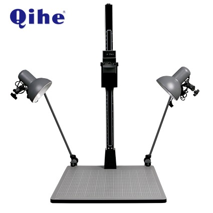 QH-1070 Copy Stand with Lifting 107.5cm,E27 Lamp Holder