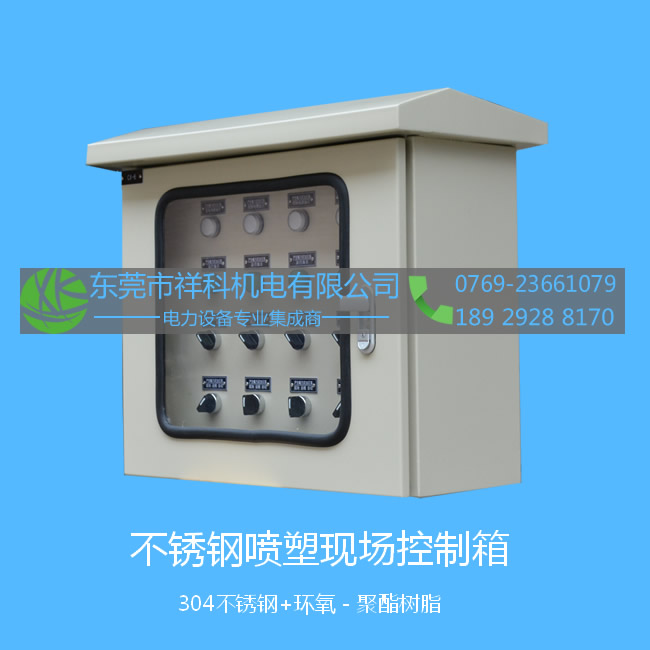 SUS power coated site control cabinet