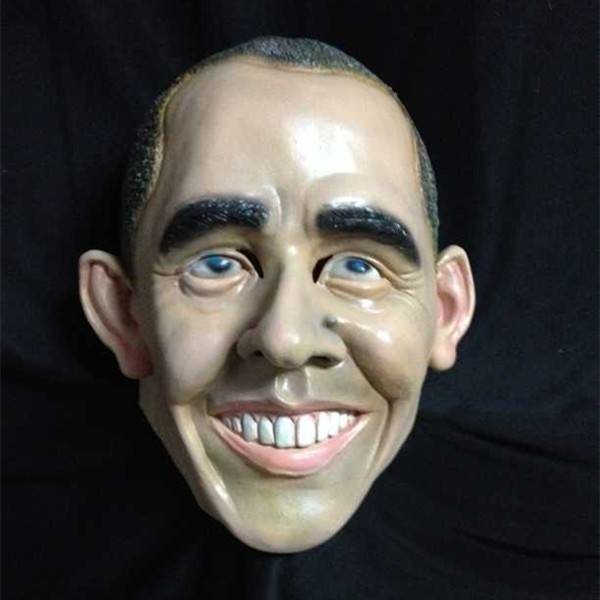 X-MERRY President Obama Face Mask Latex Human Face Mask Celebrity Mask