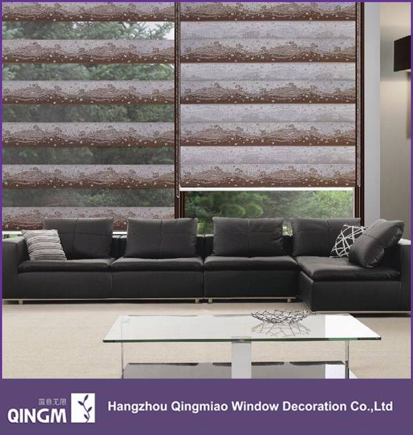 Wave Pattern Design Cheap Price Jacquard Blind Fabric For Window Shower Jacquard Blind