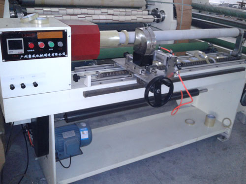 Pneumatic circular knife cutting machine