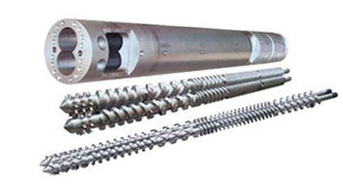 Bimetallic screw and barrel