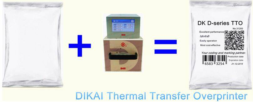 D05 Thermal Transfer Overprinters for Printing and Labeling Applications