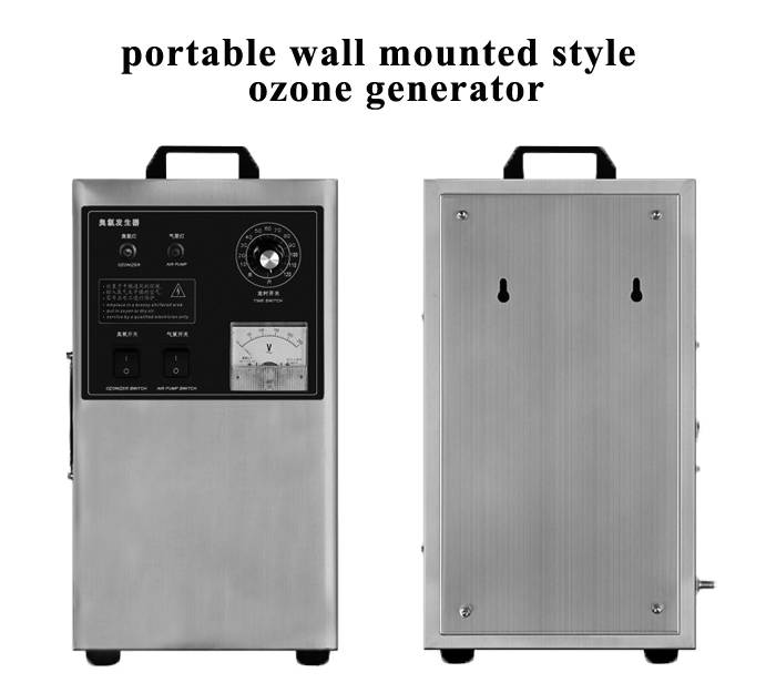 3g portable ozone generator for air purification