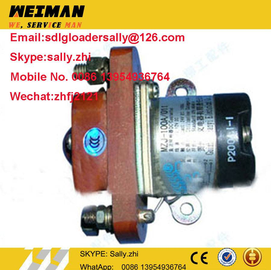 original 31B0038 control relay in yellow colour for liugong wheel loader