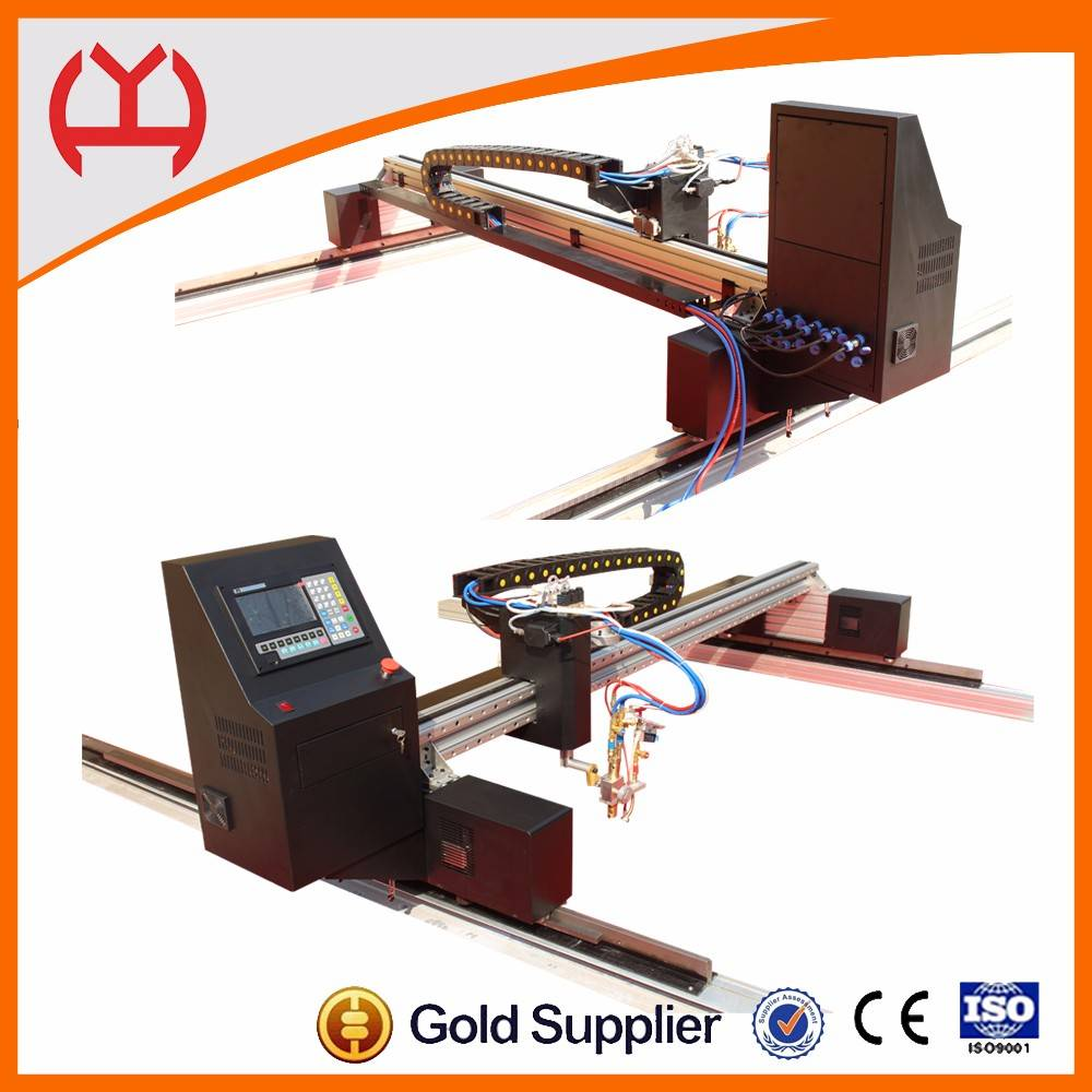 Iron sheet cutting machine