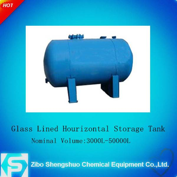 high quanlity chemical equipment K/F type glass lined storage tank(indutrial enamel)