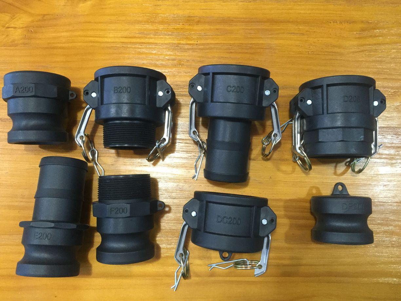 Best selling pp material camlock coupling kamlock in China
