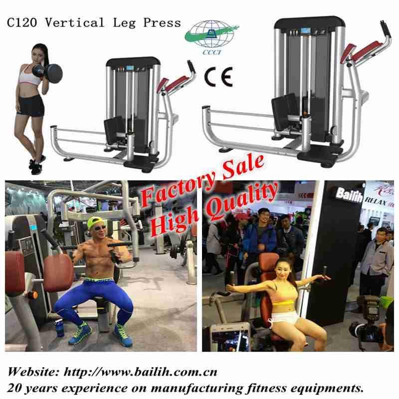 Bailih Strength Gym Equipment Professional Vertical Leg Press Machine with hot sale