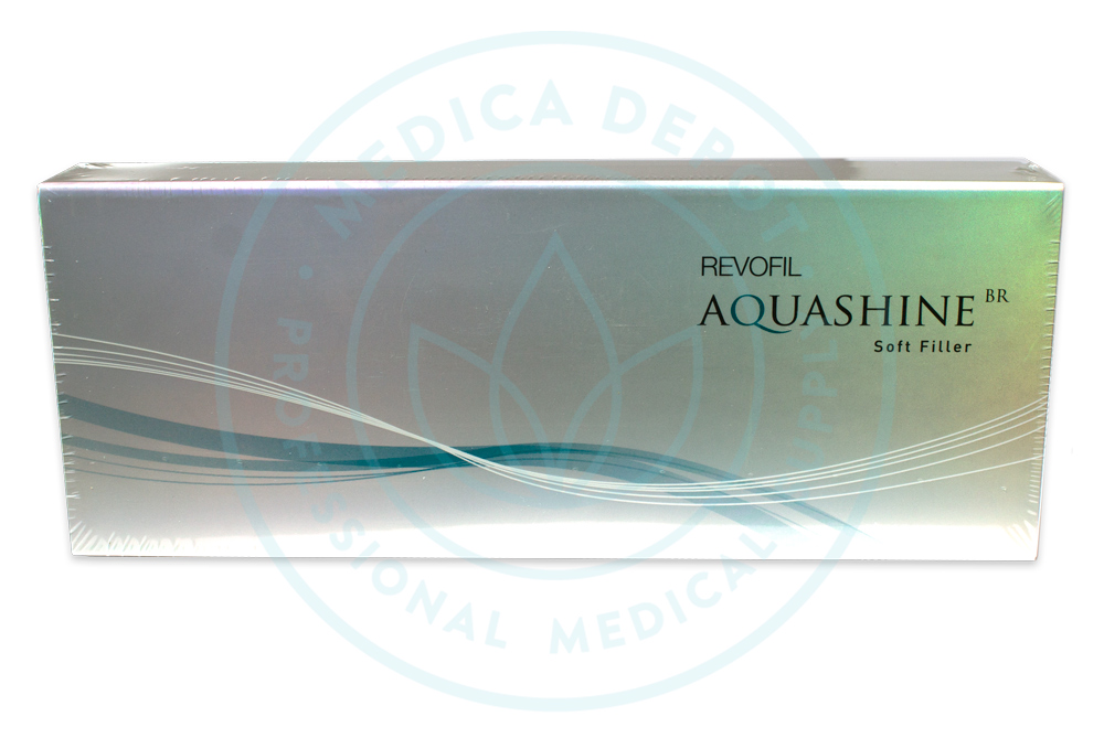 Aquashine BR A soft dermal filler using mimetic peptides for elasticity.