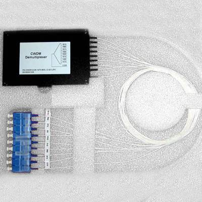 2 Channel CWDM (Channel Coarse Wavelength Division Multiplexer ) Mux/Demux Module