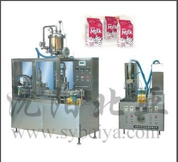 Semi Automatic Soy Milk Filling Machine (BW-1000-2)