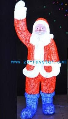 zhongshan raystar christmas oldman lights 2000leds 220v IP44