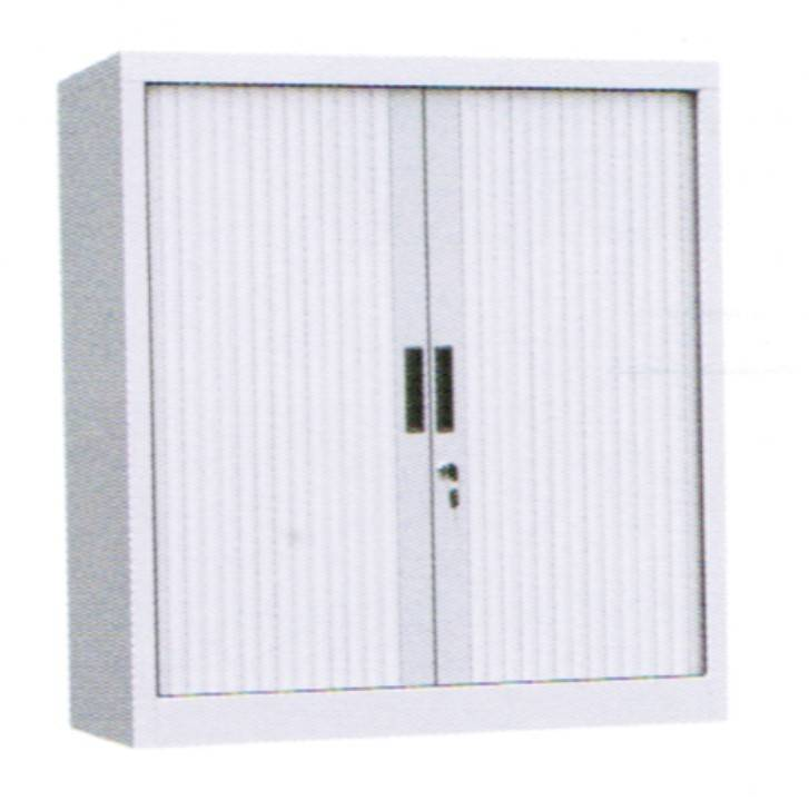 Roller shutter equipment cabinet