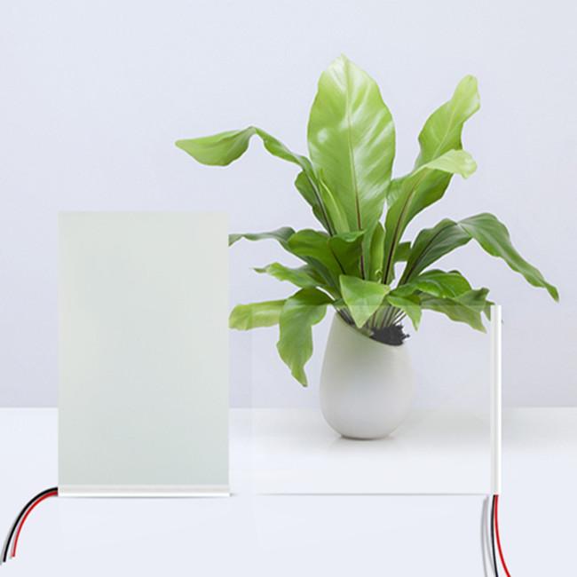 hot sale white color swichable glass window pdlc smart film