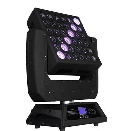25pcs 4in1 Matrix LED moving head wash light