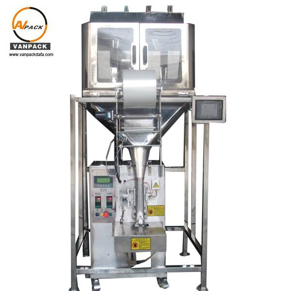 4 Heads Weigher Packing Machine