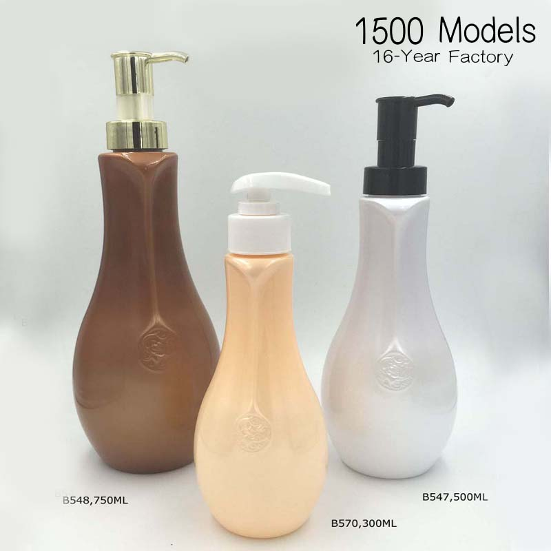 PET Shampoo bottle Body washing bottle