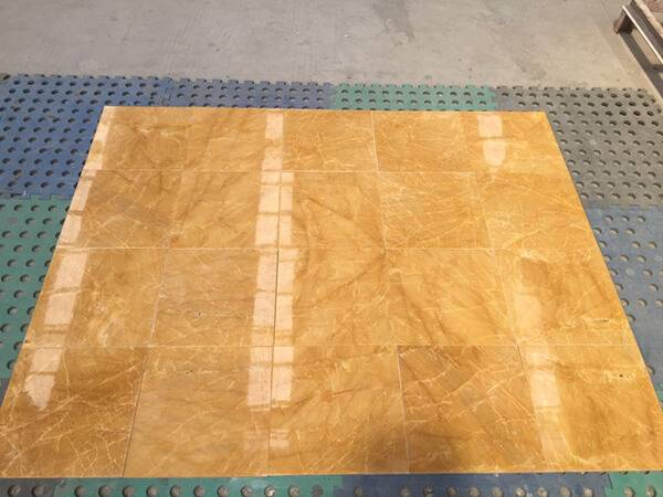 China Yellow Marble Tiles (Cut To Sizes) - Golden Marble
