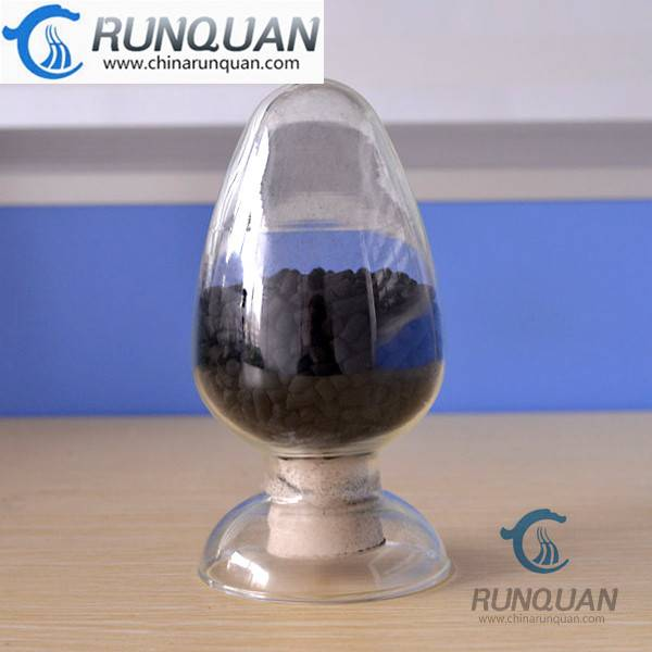 Hot activated carbon for water purification