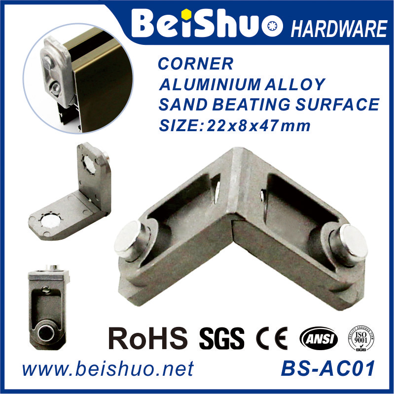Beishuo Aluminium Corner Joint window screen corners angle bracket