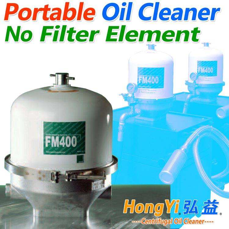 Centrifugal oil cleaning equipment for industry oil