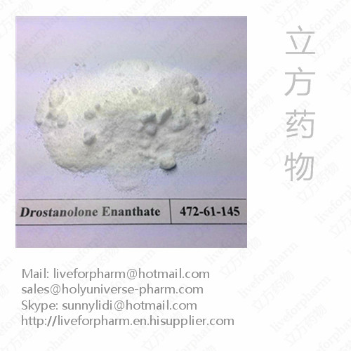 Drostanolone Enanthate/CAS 472-61-145/Purity 99% Above
