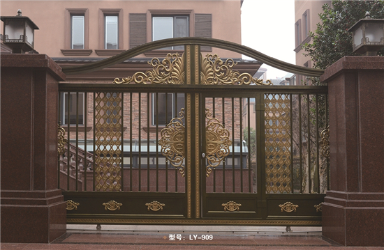 Customized gate grill designs for garden LY-909