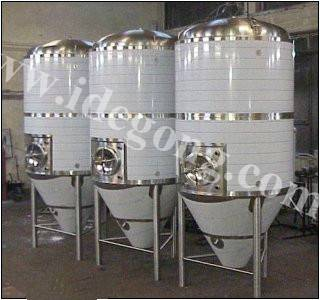 Stainless steel beer fermenting equipment/tanks
