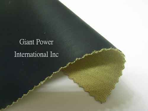 Kevlar fabric bonded synthetic leather Cut Resistant Fabric for Industrial Applications