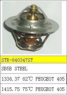 Thermostat and thermostat housing use for 1338.37 1415.75 PEUGEOT