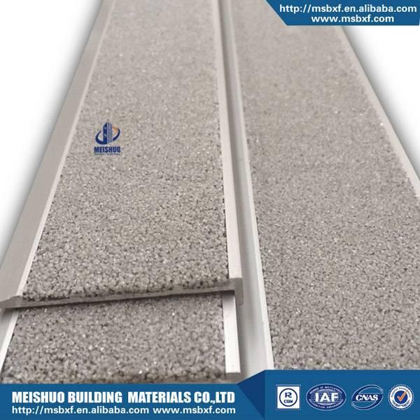 Marble stair carborundum anti skid safety nosing
