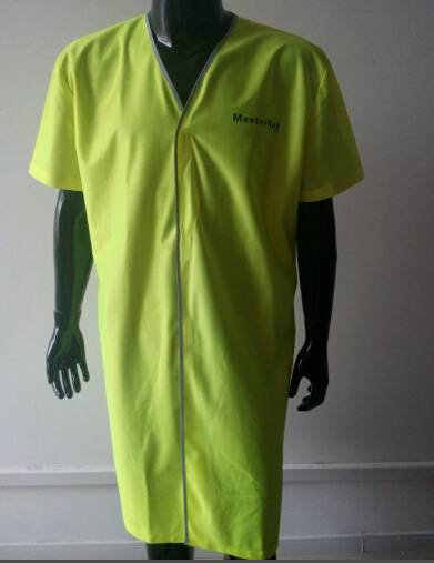 NEW design acid resistant lab coat,chemical resistant coverall