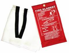 fiberglass/glass fiber/fire  fire blanket/escape blanket