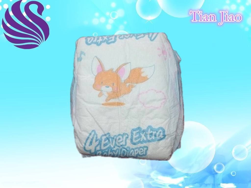 Soft Breathable Disposable Baby Diapers With Cloth Like