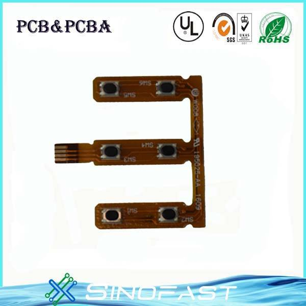 High difficult flex-rigid PCB