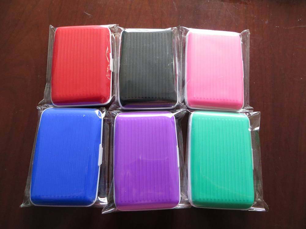 Silicone card holder