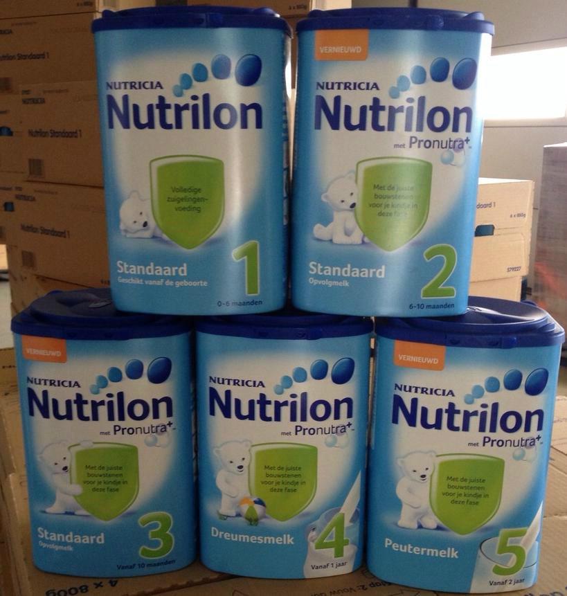 Nutrilon Nutricia infant milk powder Standard 1, 2,3,4,5