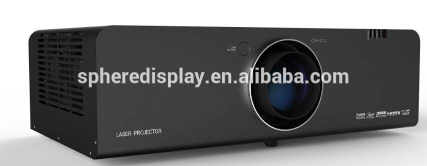 5000Lm Laser large outdoor projector, DLP laser projector 1920x1080 pixels