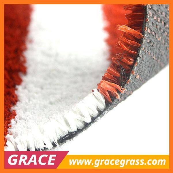 landscaping synthetic grass for athletic field/runway