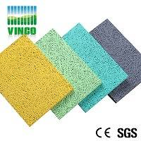 Hot sale acoustic ceiling tiles Type wood wool board