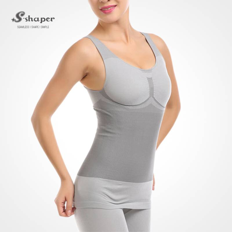 S-Shaper Firm Control Slimming Shapewear Tourmaline Bamboo  Bodysuit Seamless Body Shaper